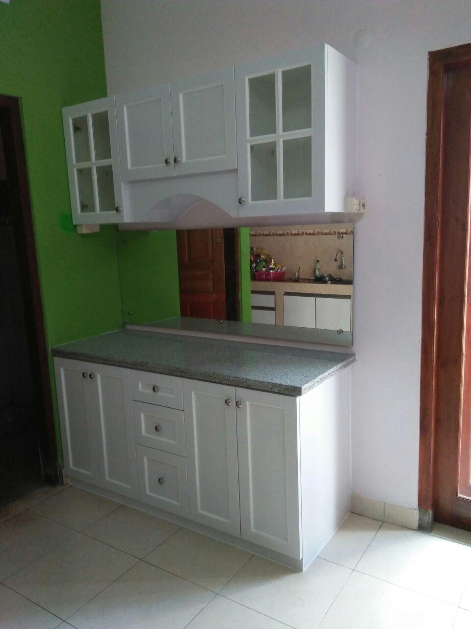 Kitchen Set Hpl Bapak Taufiq Yogyakarta Ahza Interior Kitchen